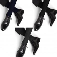Calzini uomo 100% cotone filo di scozia gamba lunga sotto al ginocchio 6 paia