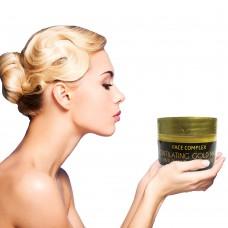 Crema scintilating gold mask face complex ventizerocinque antirughe e antistress L07917A