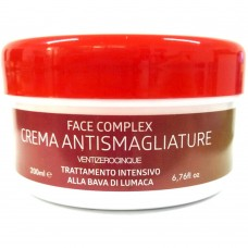 Crema antismagliature alla bava di lumaca L11117A per addome, fianchi, glutei, cosce, seno e braccia