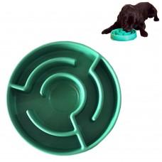 Ciotola Labirinto in Plastica per Animali Cane e Gatto