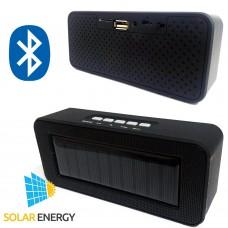 Cassa speaker connessione bluetooth con batteria ricaricabile ad energia solare