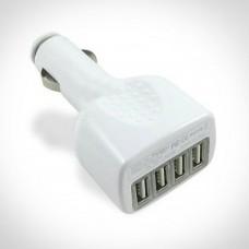 Caricabatteria universale da auto con 4 porte USB
