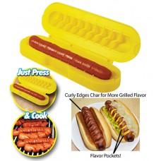 Affetta wrustel a spirale hot dog affettatrice