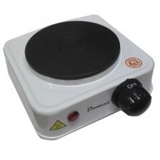 Fornello elettrico Domat DMT-100A con piastra singola regolata dalla manopola posizionata frontalmente