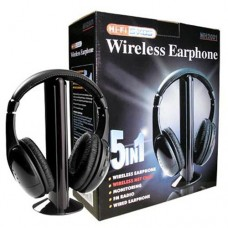 Cuffia wireless Headphone 5in1