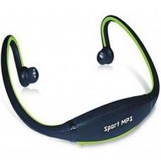 Cuffia Mp3 sport senza fili + micro sd 4gb per jogging fitness running cuffie