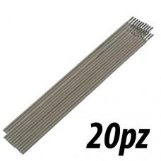 Elettrodi 20pz da 2,5mm