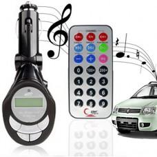 Trasmettitore mp3 LinQ 4in1 per auto con telecomando