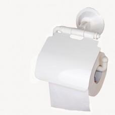 Base porta rotolo carta igienica a ventosa