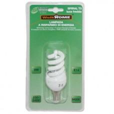 Lampadina a risparmio energetico E14 - luce fredda - 9W