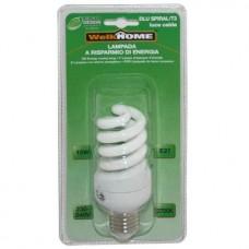 Lampadina a risparmio energetico E27 - luce calda - 15W