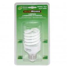 Lampadina a risparmio energetico E27 - luce calda - 18W