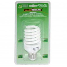 Lampadina a risparmio energetico E27 - luce calda - 23W