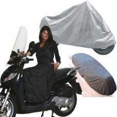 Kit moto - Coprimoto universale 230x130cm - coprisella - coprigambe