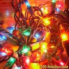 Natale - Luci natalizie 100 minilucciole