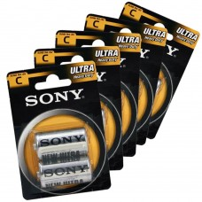 Sony - Batterie mezza torcia pile tipo C - blister